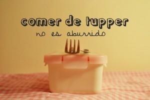 Comer de tupper no resulta aburrido si aprendes a comer de forma sana, variada y equilibrada