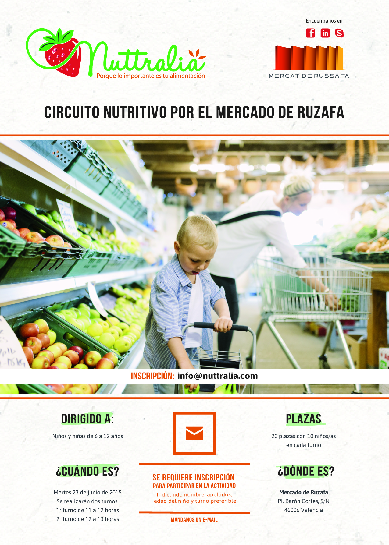 Circuito nutritivo Mercado Ruzafa