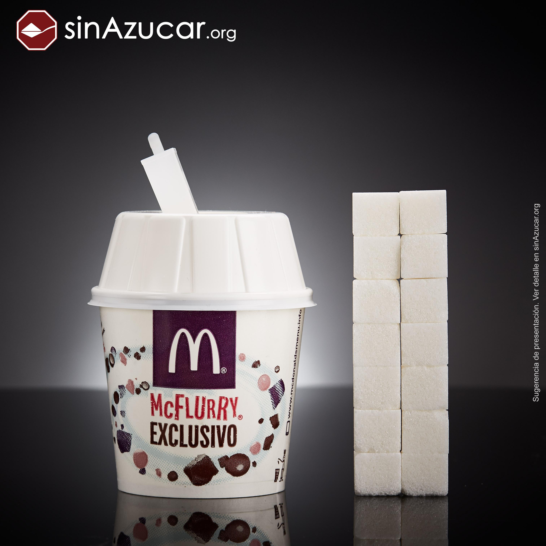 Azúcar en mcflurry